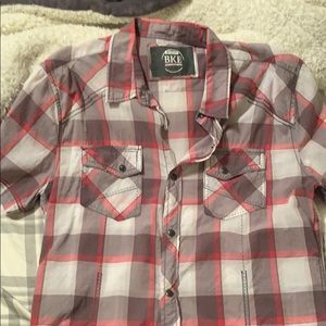BKE light casual button up